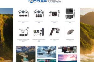 FREEWELL – Hersteller von Drohnen-, Action Cam- & Smartphone Zubehör